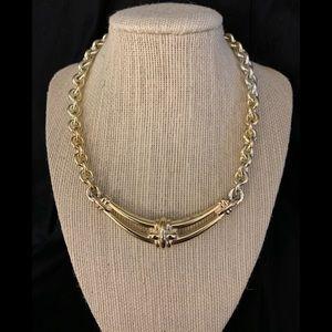 Vintage Monet Goldtone Necklace